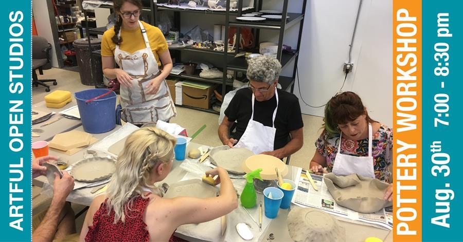 Pottery Workshop in NJM Ceramics Studio