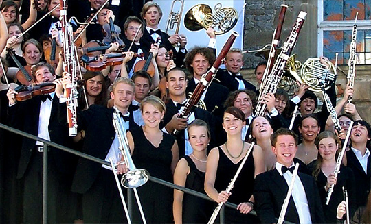 The National Youth Orchestra of Germany (Bundesjugendorchester)