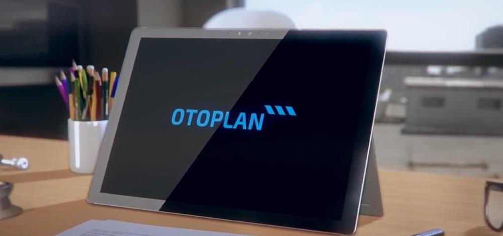 Image of the OTOPLAN tablet