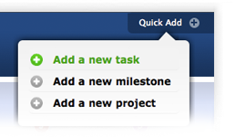 New Quick add tasks and Milestone feature