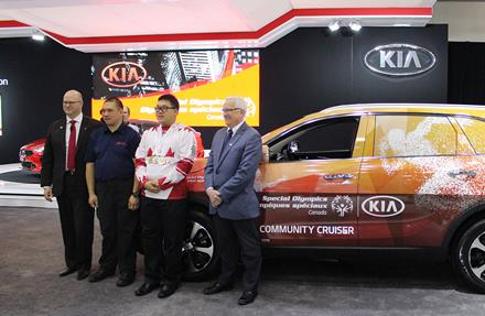 Kia Canada announcement Vancouver International Auto Show