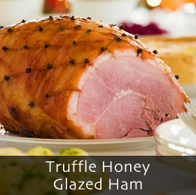 Truffle Honey Glazed Ham