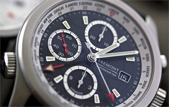 The Bremont World Timer ALT1-WT in black