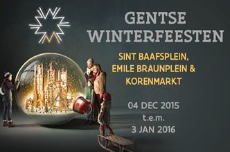 Gentse Winterfeesten van 4 december tot 3 januari