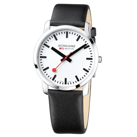 Mondaine Evo Quartz now in at Dezeen Watch Store