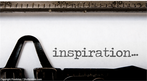 Inspiration typewriter