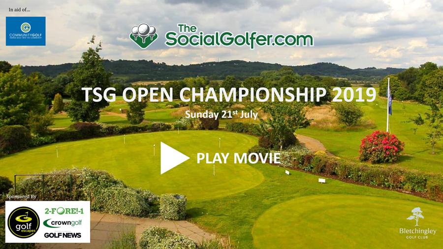 The Social Golfer OPEN Championship 2019