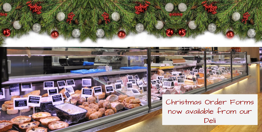 Bury Lane Farm Shop Deli Christmas Order Forms Now Available 2018