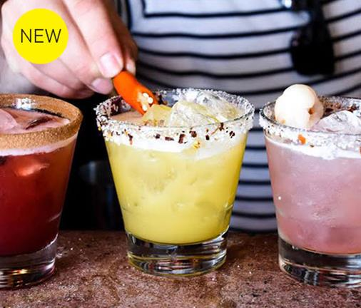We discover a bar dedicated solely to margaritas