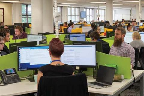 Datacom customer service hub