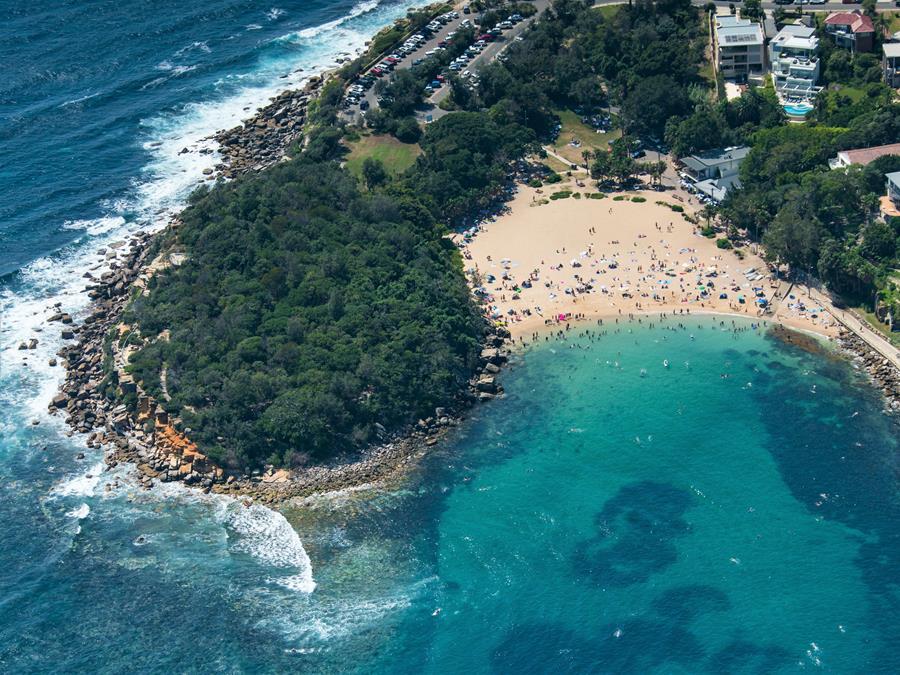 Australia Day in Manly Beach, Sydney