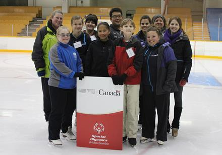 Special Olympics BC Figure Skating Performance Camp