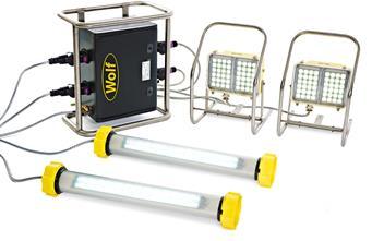 Wolf Safety Lamps - Hazardous Area Lighting
