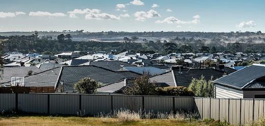 Outer suburban housing