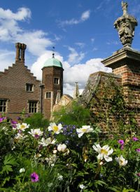 Madingley Hall in Summer