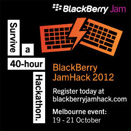 BlackBerry JamHack 2012