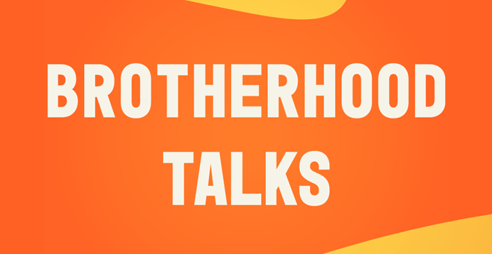 Brotherhood Talks graphic