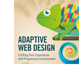 Adaptive Web Design, book cover design project