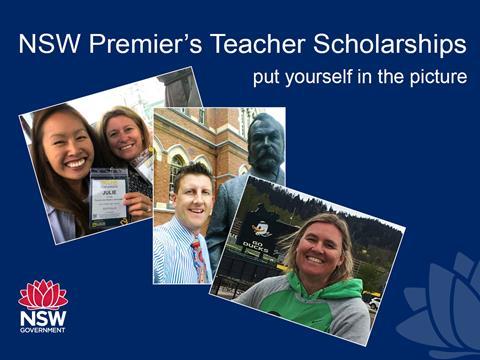 Premier's Teachers Scholarship