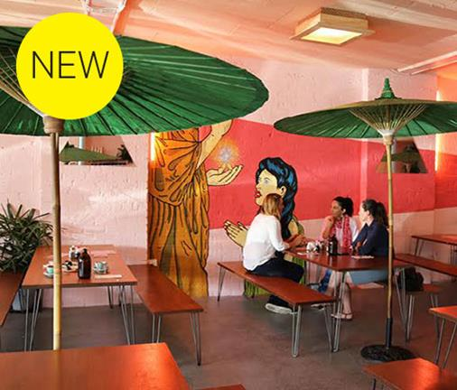 Everyone is taking about this new day to night Asian-influenced eatery