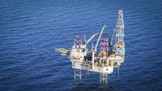 The 'Tom Prosser' drilling rig