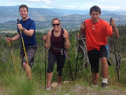 Special Olympics Team Canada members in the Okanagan