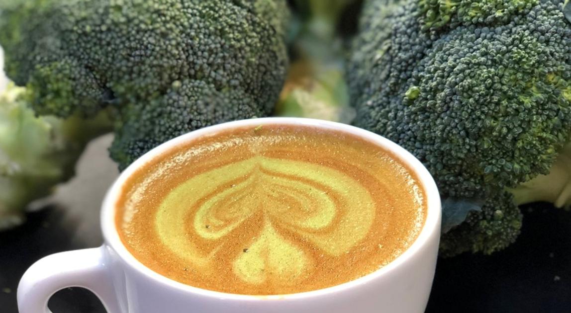 Broccoli coffee