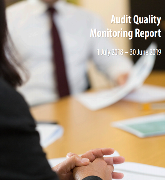 Audit Quality Monitoring Report 2019