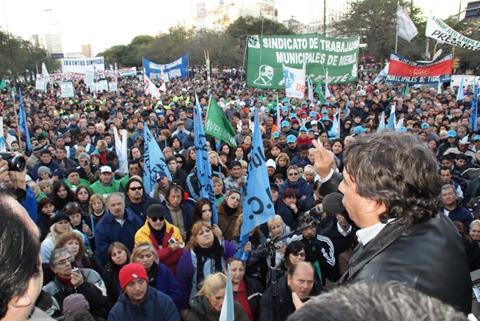 Argentine: Les employé(e)s municipaux se mobilisent pour le respect de la loi sur la négociation collective