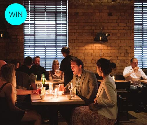 Your chance to win an exclusive five course degustation