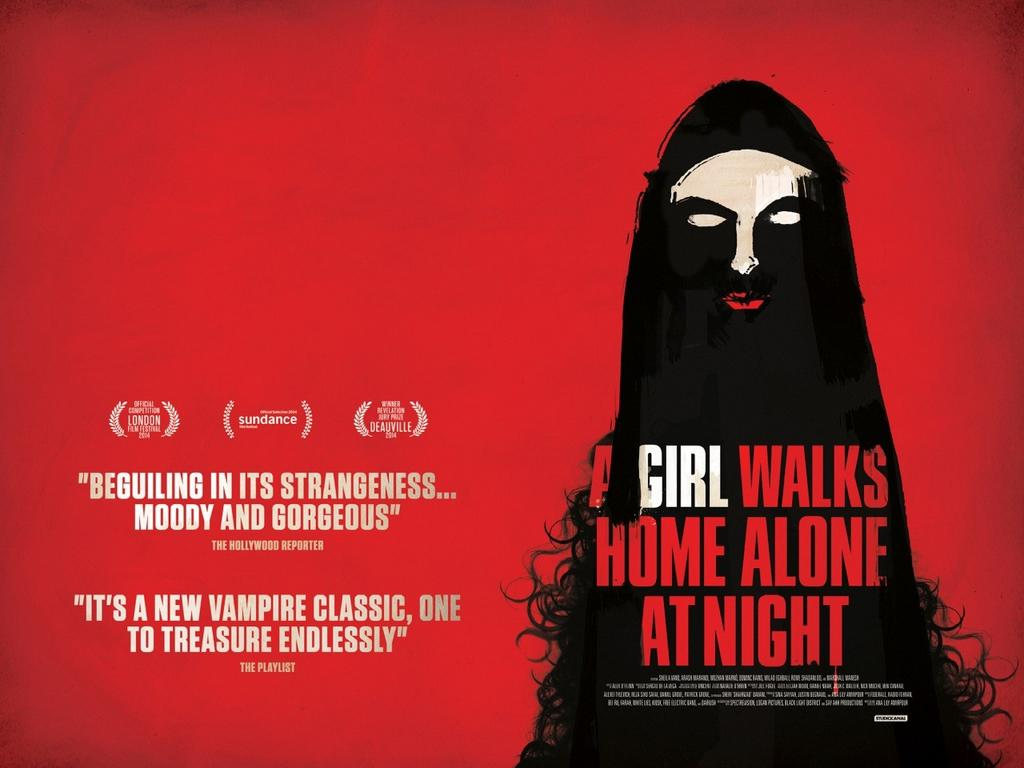The Girl Who Walks Home Alone At Night