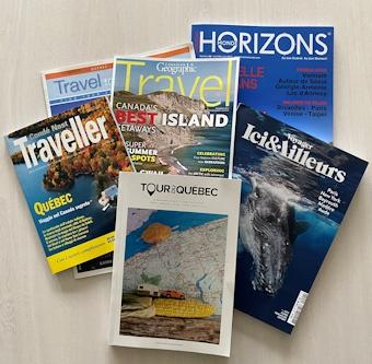 Magazines voyage