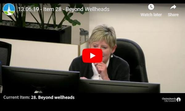 Watch the 'Beyond wellheads' report to Council