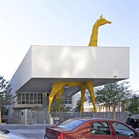 Giraffe&#32;Childcare&#32;Centre&#32;by&#32;Hondelatte&#32;Laporte&#32;Architectes