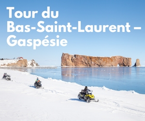 Tour du Bas-Saint-Laurent - Gaspésie