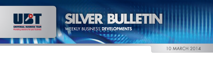 UBT Silver Bulletin 10 March 2014