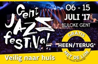 Naar Gent Jazz met De Lijn