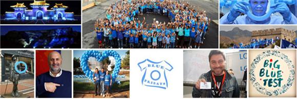 World Diabetes Day blue banner