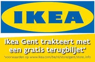 IKEA trakteert op een gratis terugbiljet