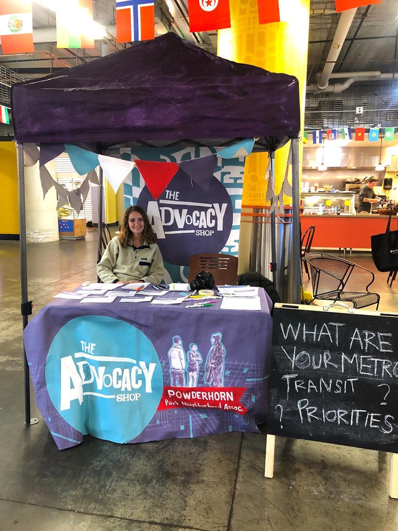 Powderhorn Park Neighborhood Advocacy Shop Pop-Up at Midtown Global Market