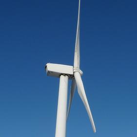 Photo of wind turbine; cooke & arkwright