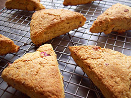 NEW Ready-to-Eat  and All Natural Low Carb Scones