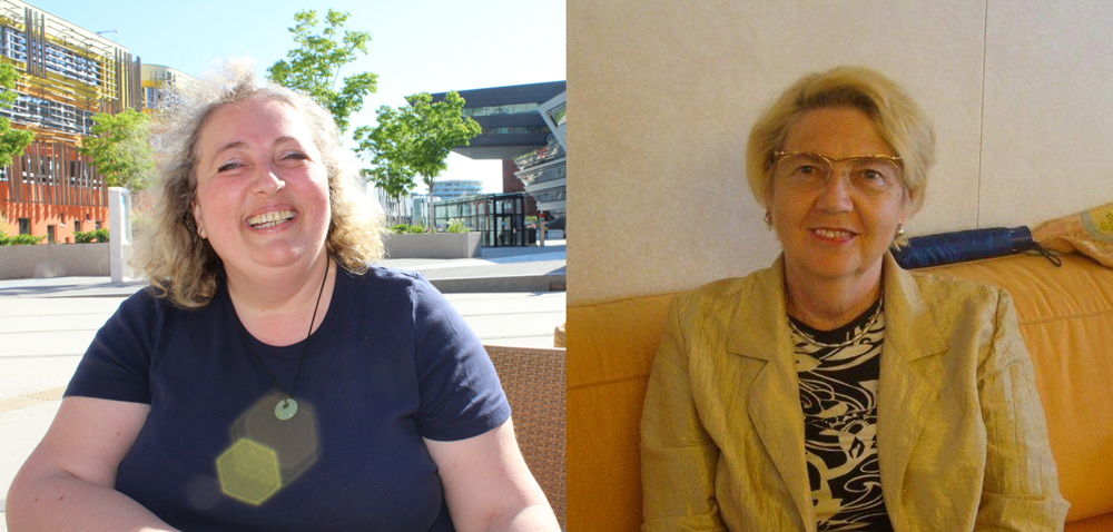 Female power in the East of Austria – Hilde Renner, chair(wo)man of CIA Burgenland, and Gertrude Moser, chair(wo)man of CIA Lower Austria.