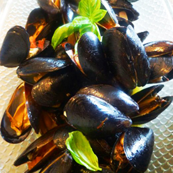 Mussels In White Wine And Saffron