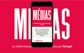 Datagif newsletter about design and media