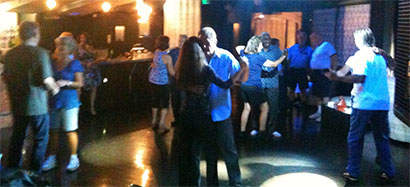 Dancers at the Zydeco Dance at Vertigo