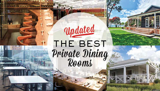 PRIVATE DINING ROUND UP