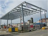 Busstation Gent Sint-Pieters krijgt vorm