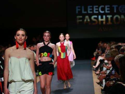 Fleece to Fashion runway
