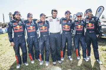 Follow the Dakar with Red Bull